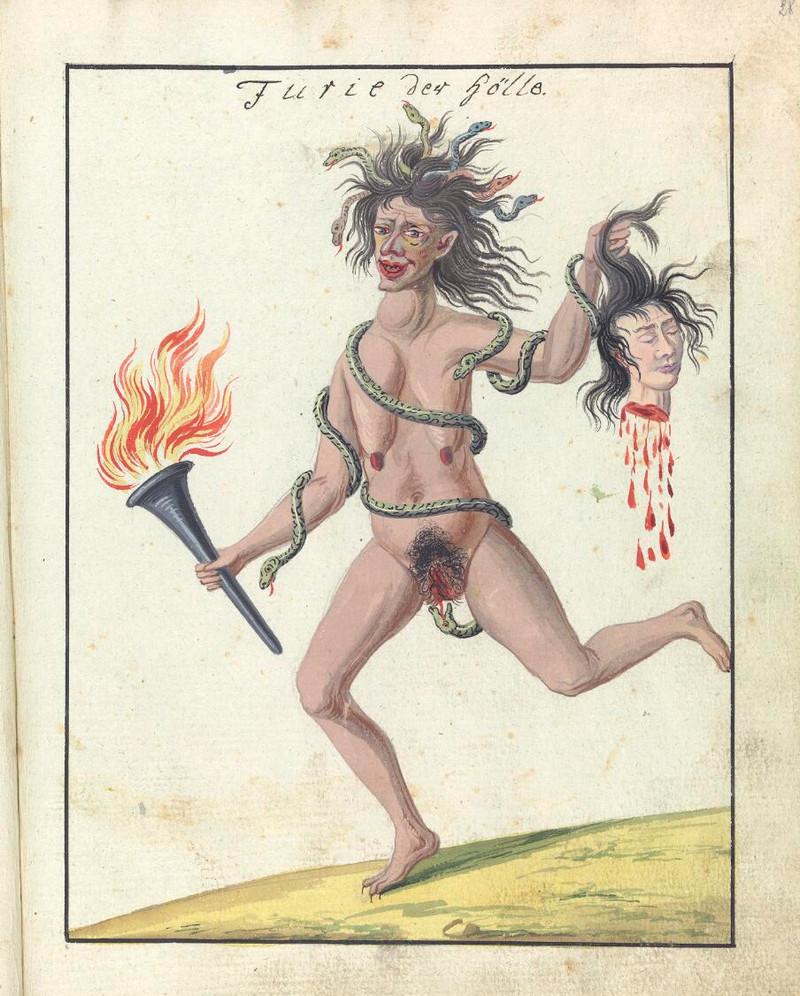 Сборник по демонологии и магическому искусству 18 века – редкая книга в свободном доступе 25