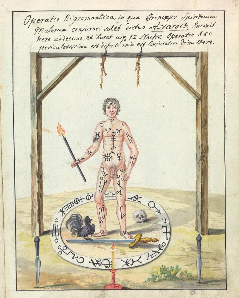 Сборник по демонологии и магическому искусству 18 века – редкая книга в свободном доступе 26