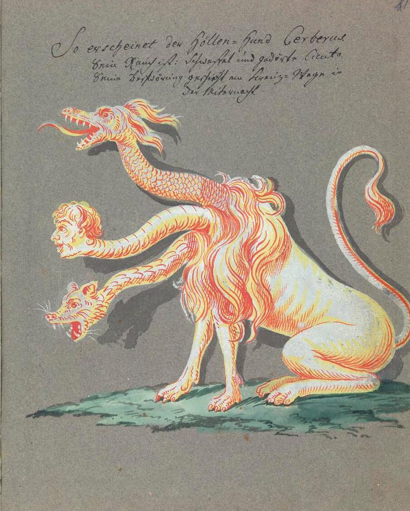 Сборник по демонологии и магическому искусству 18 века – редкая книга в свободном доступе 29