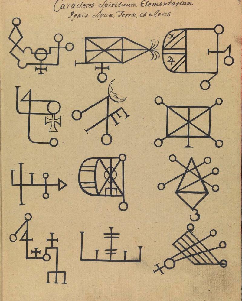 Сборник по демонологии и магическому искусству 18 века – редкая книга в свободном доступе 3