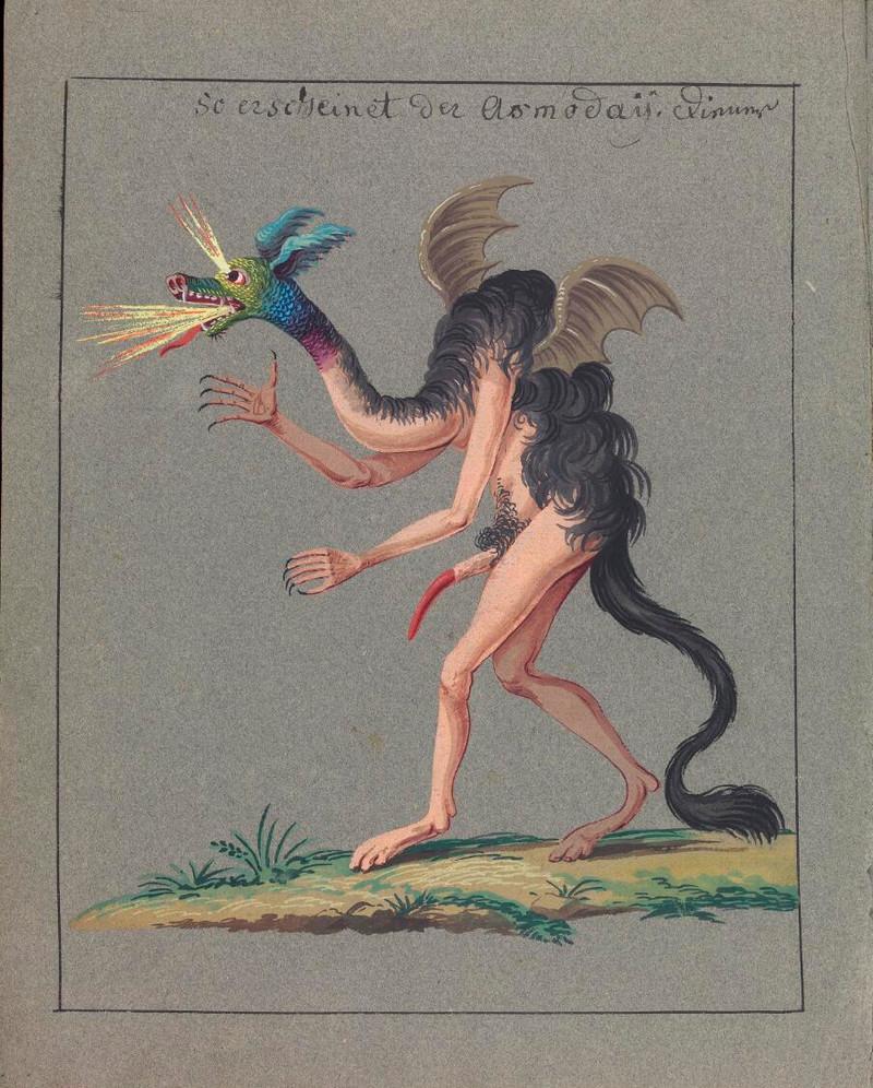 Сборник по демонологии и магическому искусству 18 века – редкая книга в свободном доступе 31