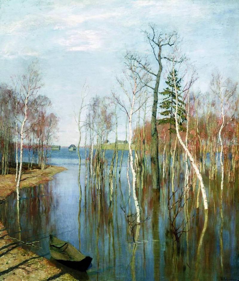 Нет пророка в своём отечестве или Как Исаак Левитан создал хрестоматийные русские пейзажи vert 4