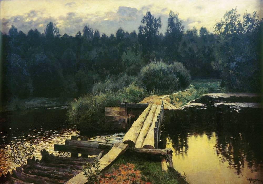 Нет пророка в своём отечестве или Как Исаак Левитан создал хрестоматийные русские пейзажи 38