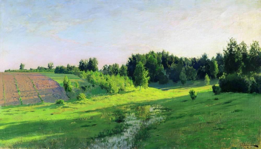 Нет пророка в своём отечестве или Как Исаак Левитан создал хрестоматийные русские пейзажи 8