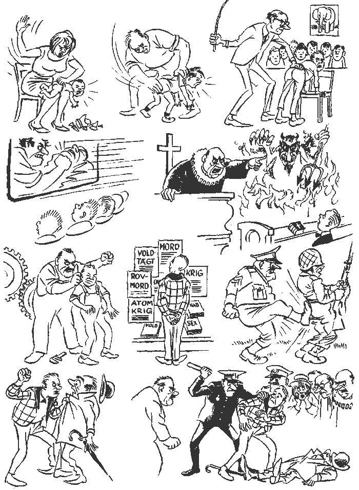 Херлуф Бидструп – гениальный мастер рисованной истории и один из самых блестящих карикатуристов 20-го века 12