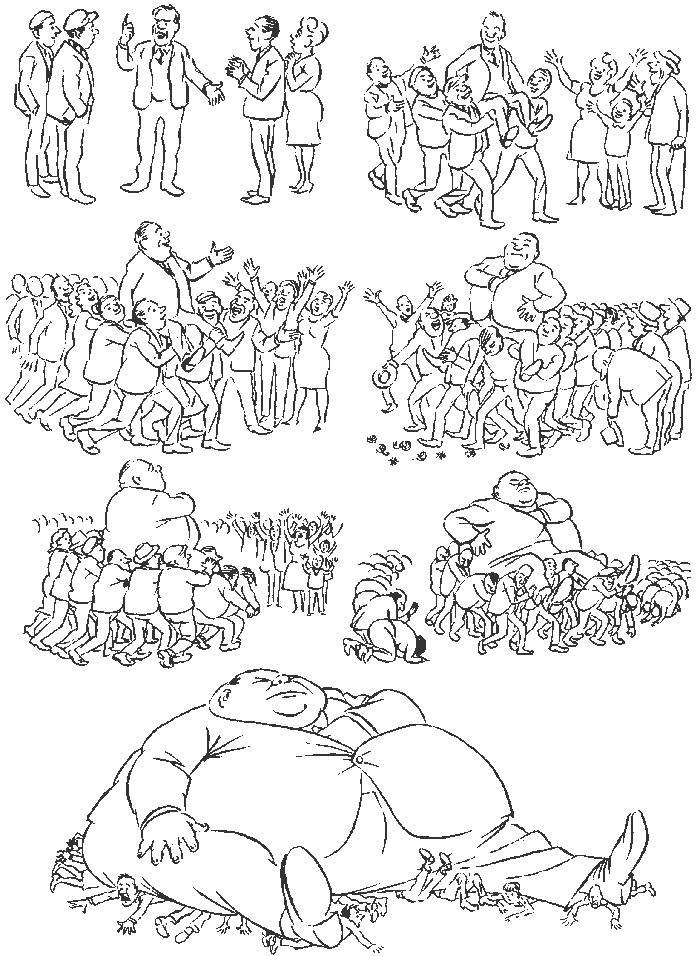 Херлуф Бидструп – гениальный мастер рисованной истории и один из самых блестящих карикатуристов 20-го века 17