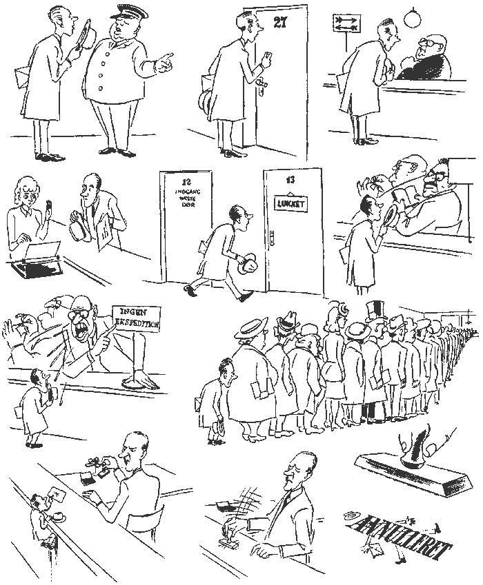 Херлуф Бидструп – гениальный мастер рисованной истории и один из самых блестящих карикатуристов 20-го века 19