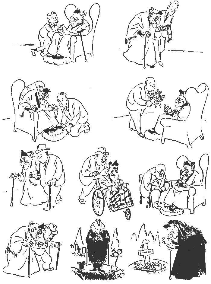 Херлуф Бидструп – гениальный мастер рисованной истории и один из самых блестящих карикатуристов 20-го века 6