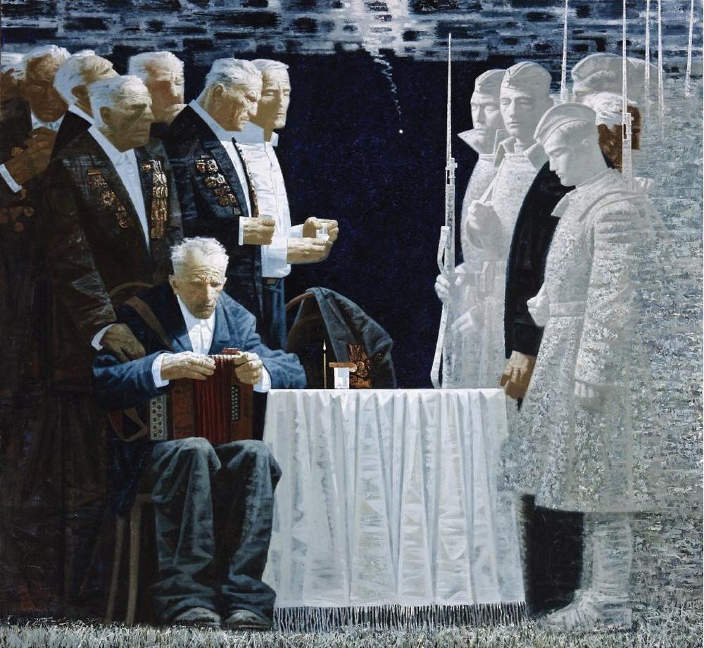Великая Отечественная в живописи прошлого и настоящего: каноны, «табу», скрытые смыслы 1