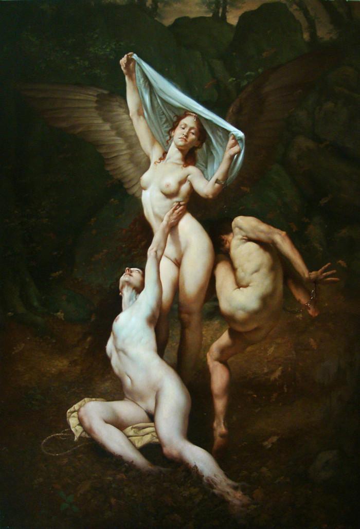 Роберто Ферри – Микеланджело, укушенный Дали 1