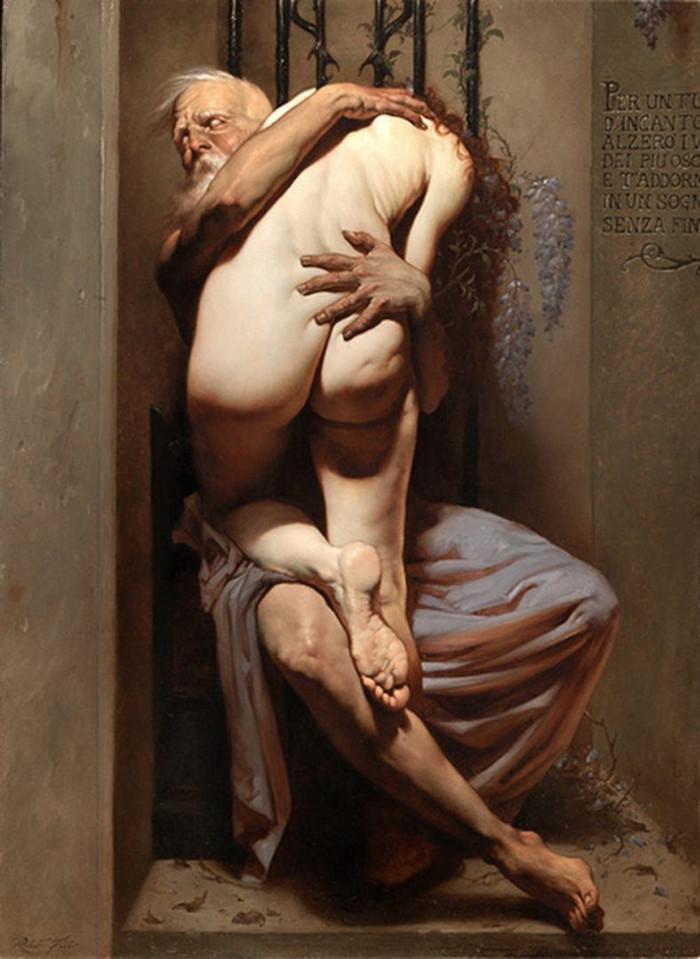 Роберто Ферри – Микеланджело, укушенный Дали 1 4