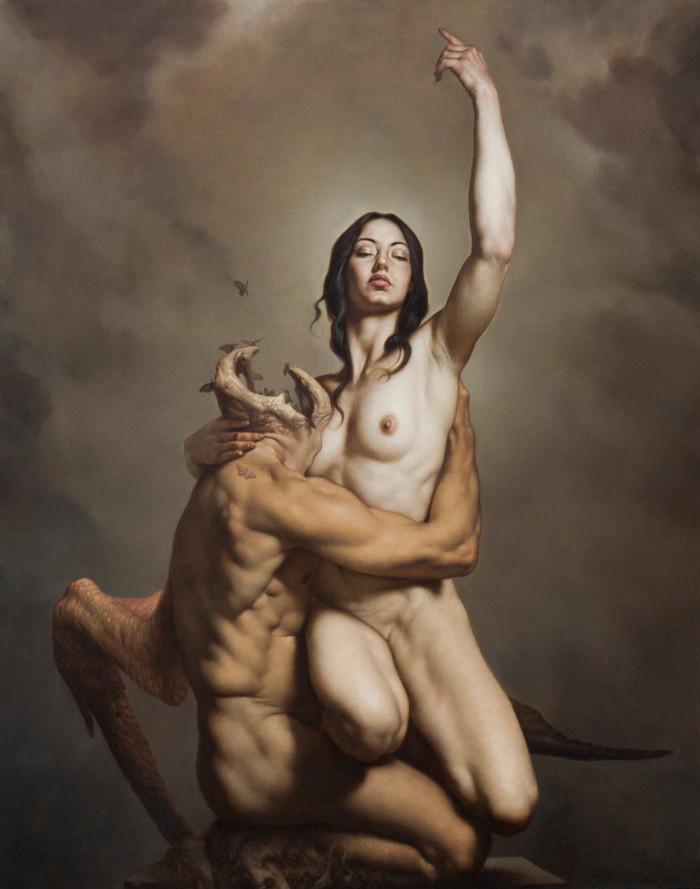 Роберто Ферри – Микеланджело, укушенный Дали 1 5