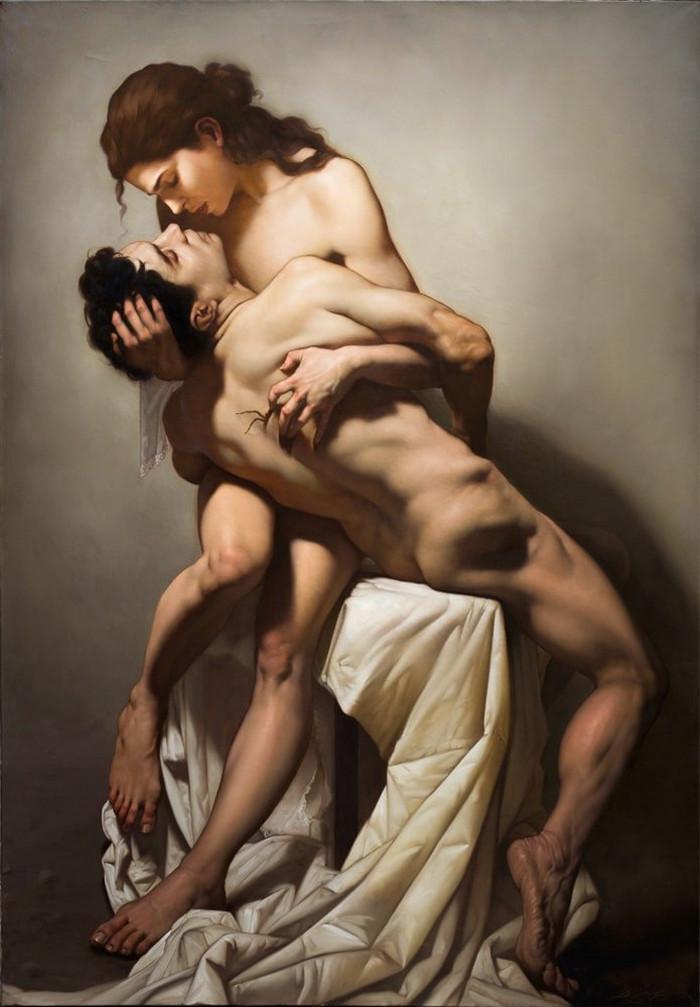 Роберто Ферри – Микеланджело, укушенный Дали 1 6