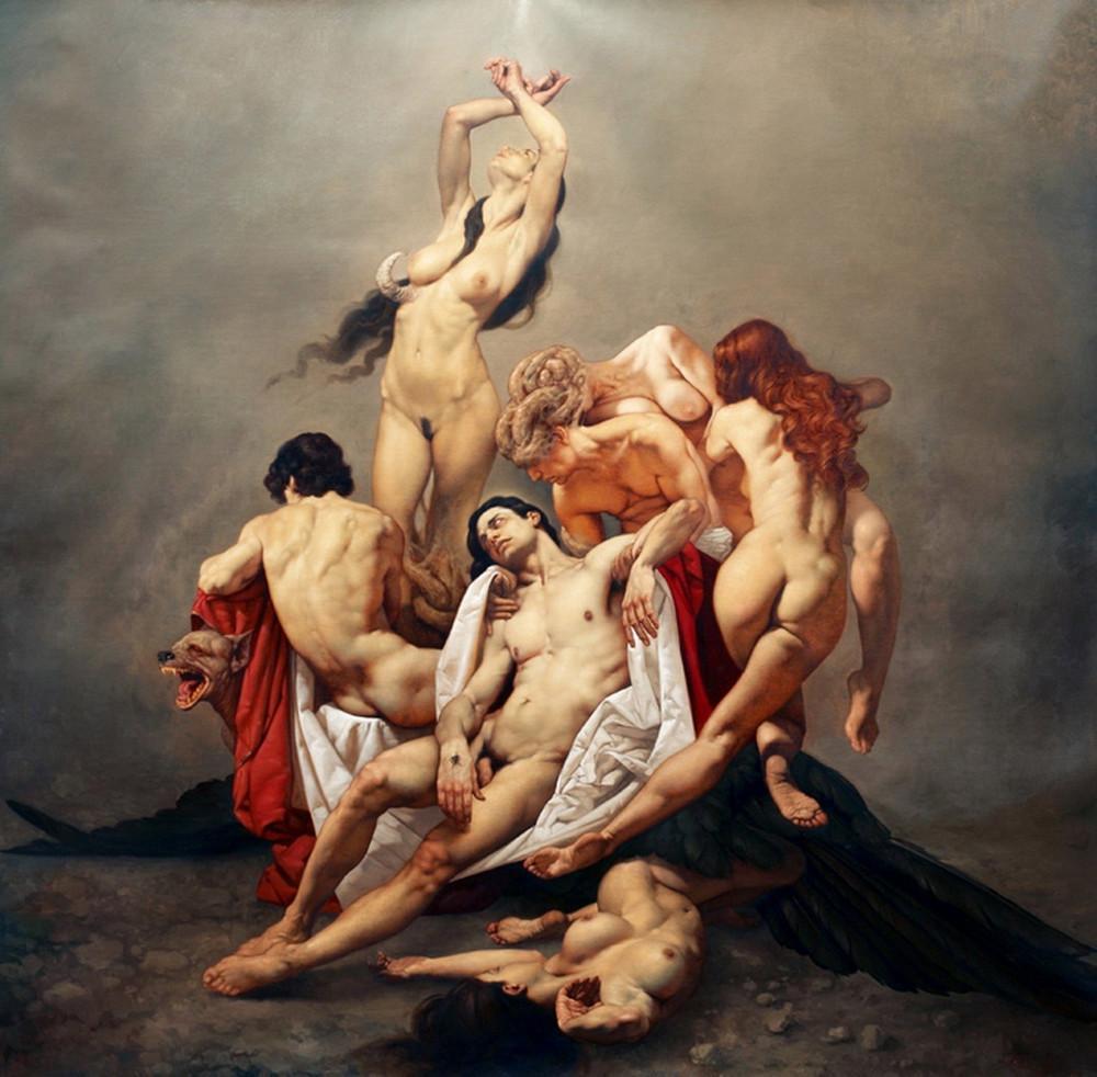 Роберто Ферри – Микеланджело, укушенный Дали 12