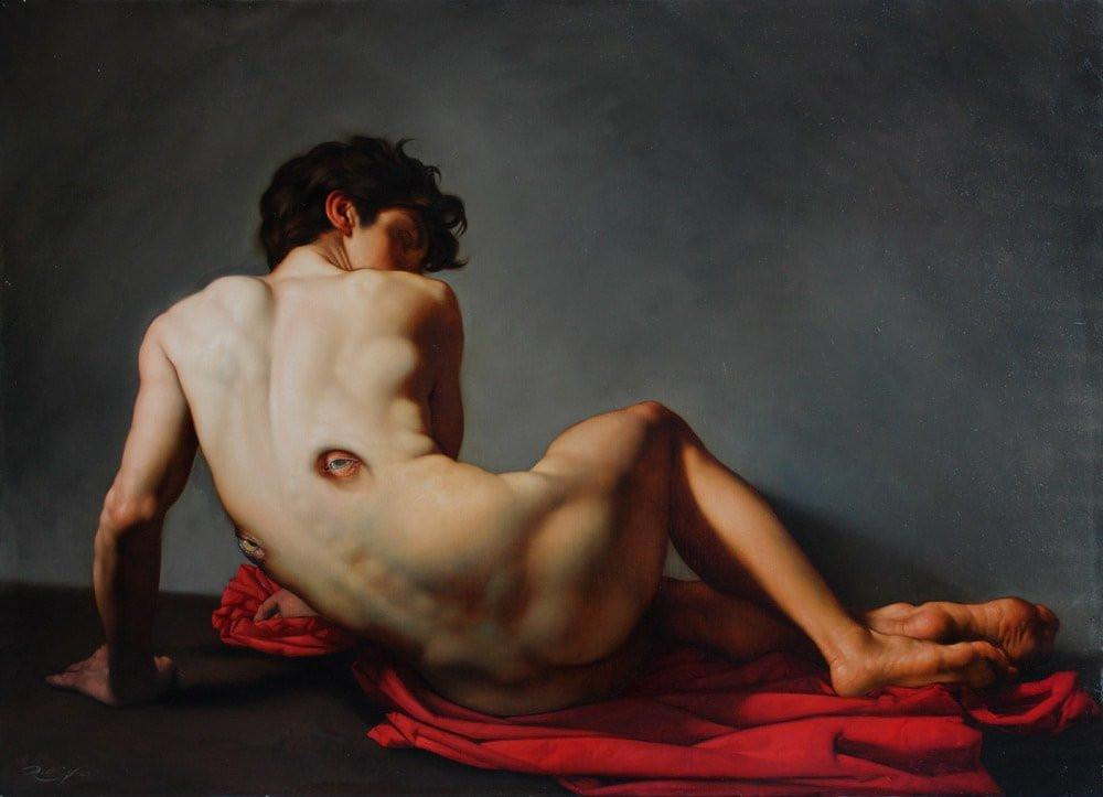Роберто Ферри – Микеланджело, укушенный Дали 15