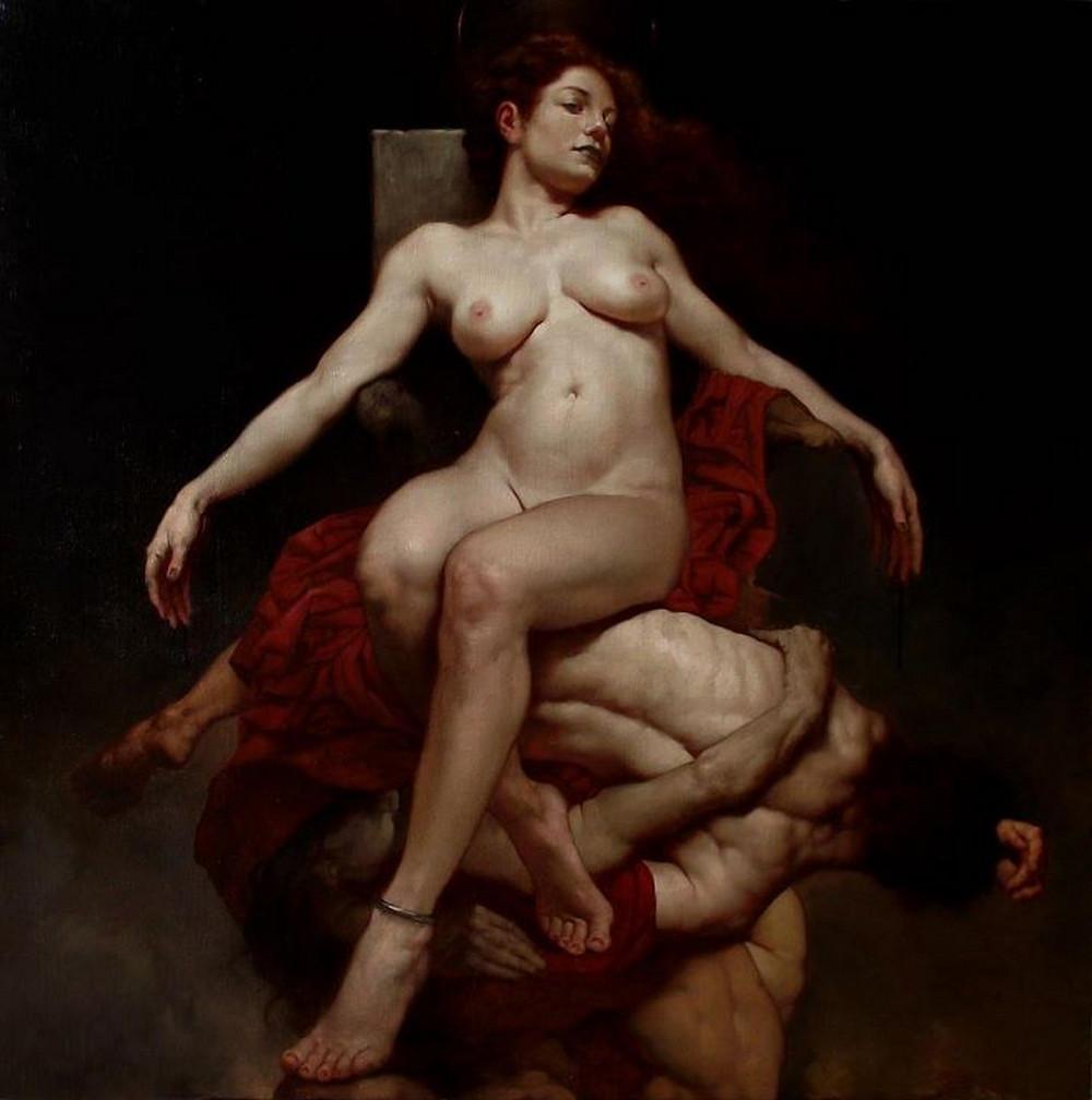 Роберто Ферри – Микеланджело, укушенный Дали 4