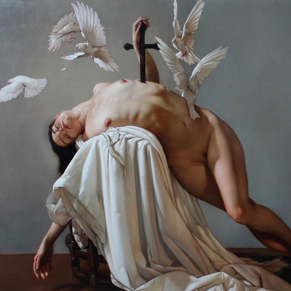 Роберто Ферри – Микеланджело, укушенный Дали 8
