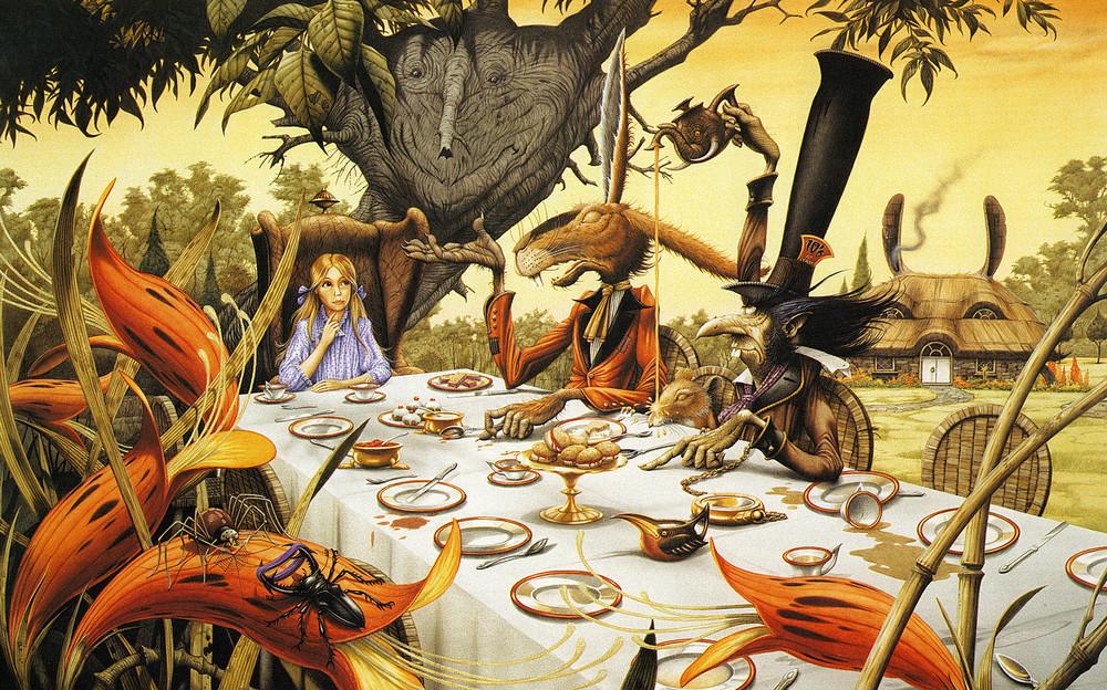 Иллюстрации к «Алисе в стране чудес», «Властелину колец» и рок-пластинкам от Родни Мэттьюза
