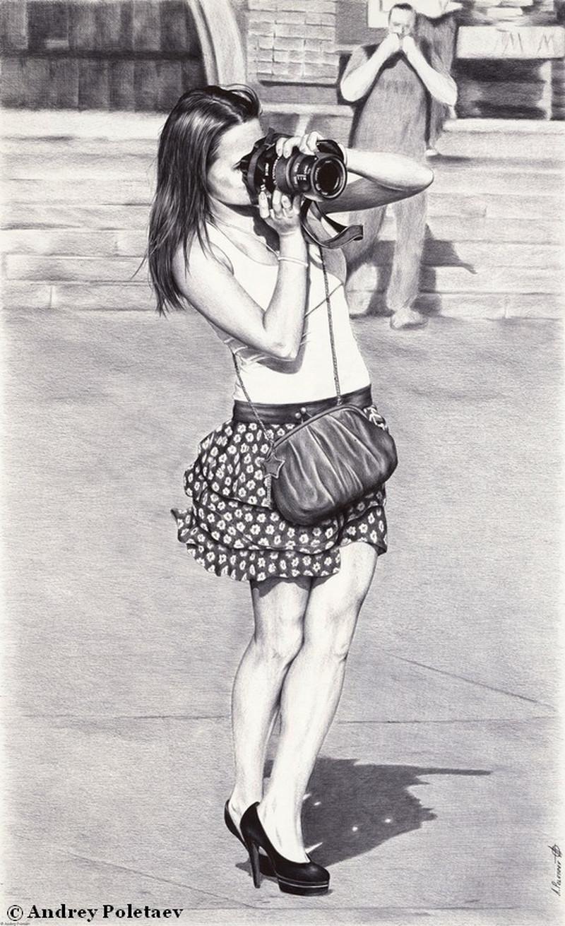 Фотореалистичная живопись шариковой ручкой от Андрея Полетаева - 1 6