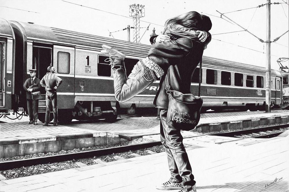 Фотореалистичная живопись шариковой ручкой от Андрея Полетаева - 6