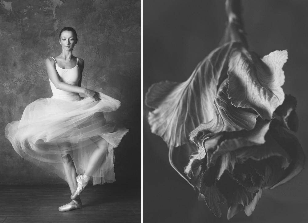 «Балерина и цветы» – серия о сходстве двух изяществ  1