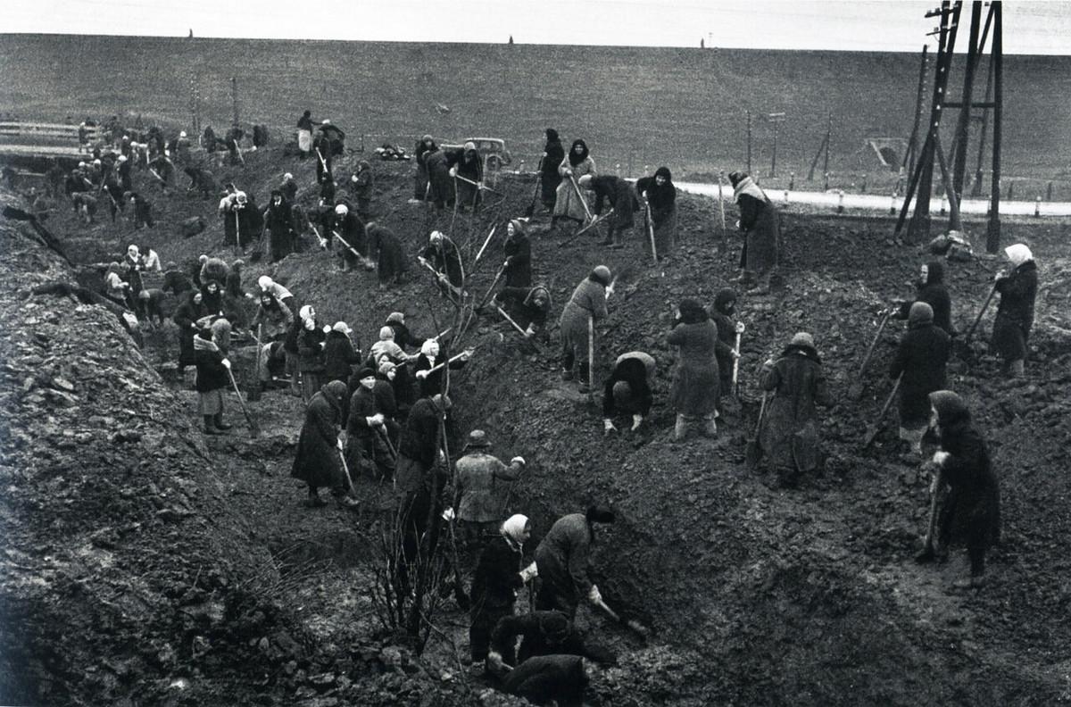 фронт и тыл Великой Отечественной на снимках советских военных фотографов baltermanz 1200 5