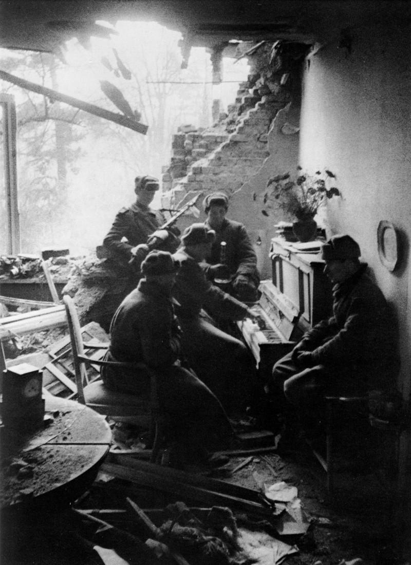 фронт и тыл Великой Отечественной на снимках советских военных фотографов baltermanz 800 2