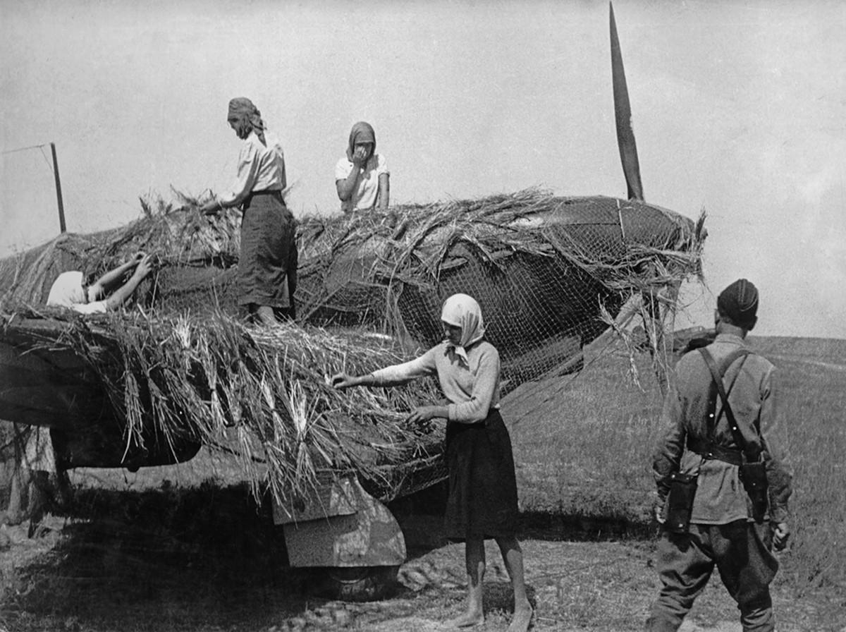 фронт и тыл Великой Отечественной на снимках советских военных фотографов evzerihin 1200