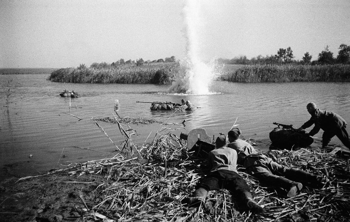 фронт и тыл Великой Отечественной на снимках советских военных фотографов fridlyand 1200 3