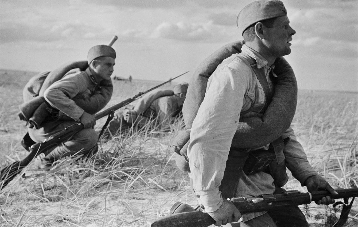 фронт и тыл Великой Отечественной на снимках советских военных фотографов fridlyand 1200 5