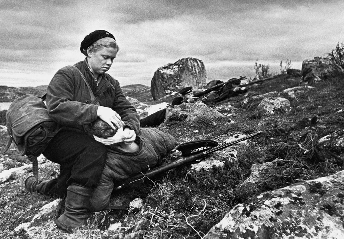 фронт и тыл Великой Отечественной на снимках советских военных фотографов haldey 1200 9