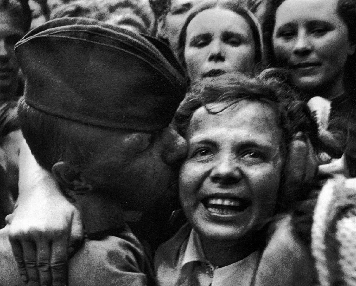 фронт и тыл Великой Отечественной на снимках советских военных фотографов petrusov 1200 2