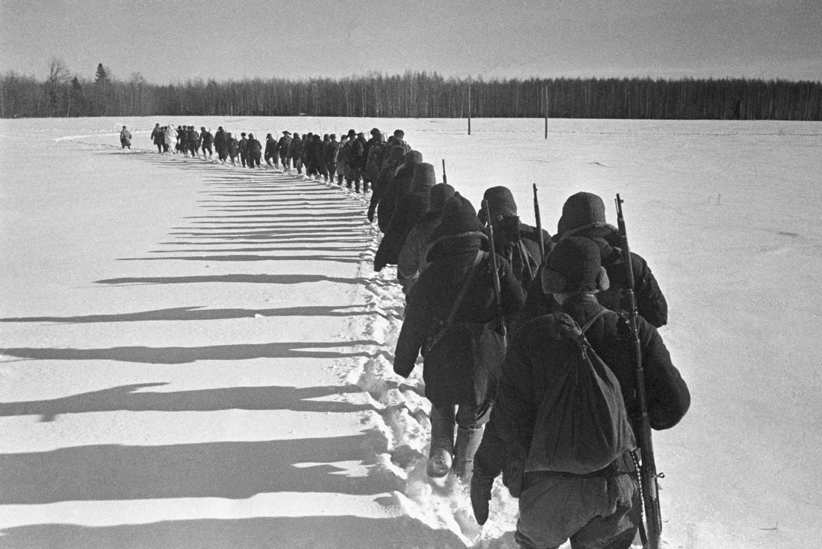 фронт и тыл Великой Отечественной на снимках советских военных фотографов petrusov 1200 4