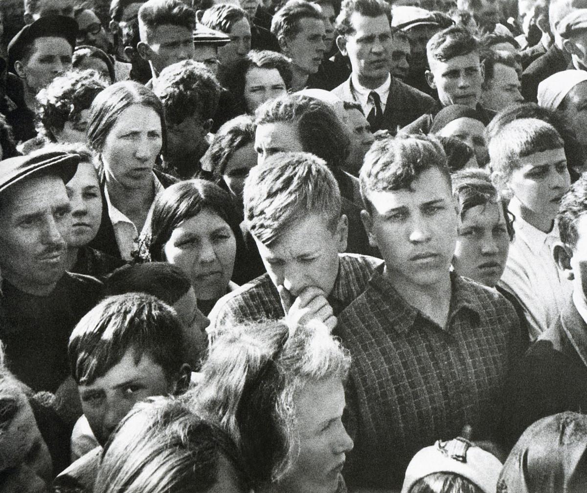 фронт и тыл Великой Отечественной на снимках советских военных фотографов shagin 1200