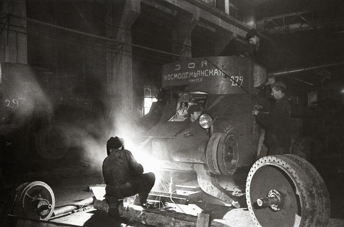 фронт и тыл Великой Отечественной на снимках советских военных фотографов shagin 1200 2