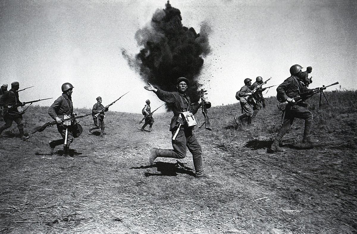 фронт и тыл Великой Отечественной на снимках советских военных фотографов shayhet 1200 6
