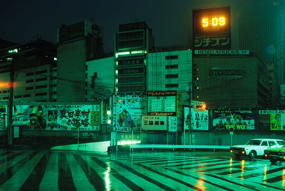Фантастический Токио в 1970-х годах глазами Грега Жирара 4