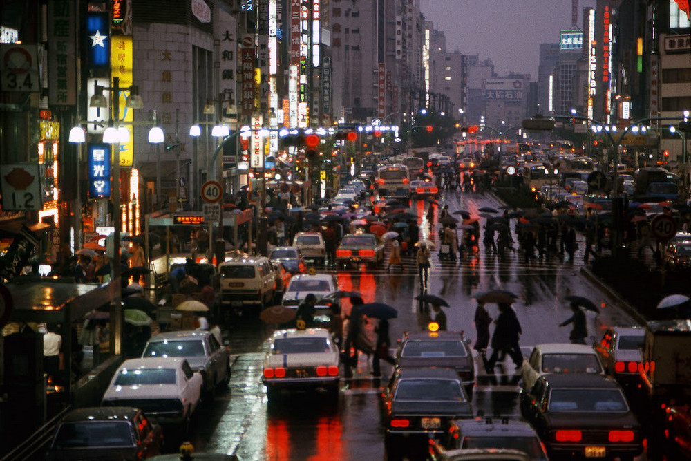 Фантастический Токио в 1970-х годах глазами Грега Жирара 6