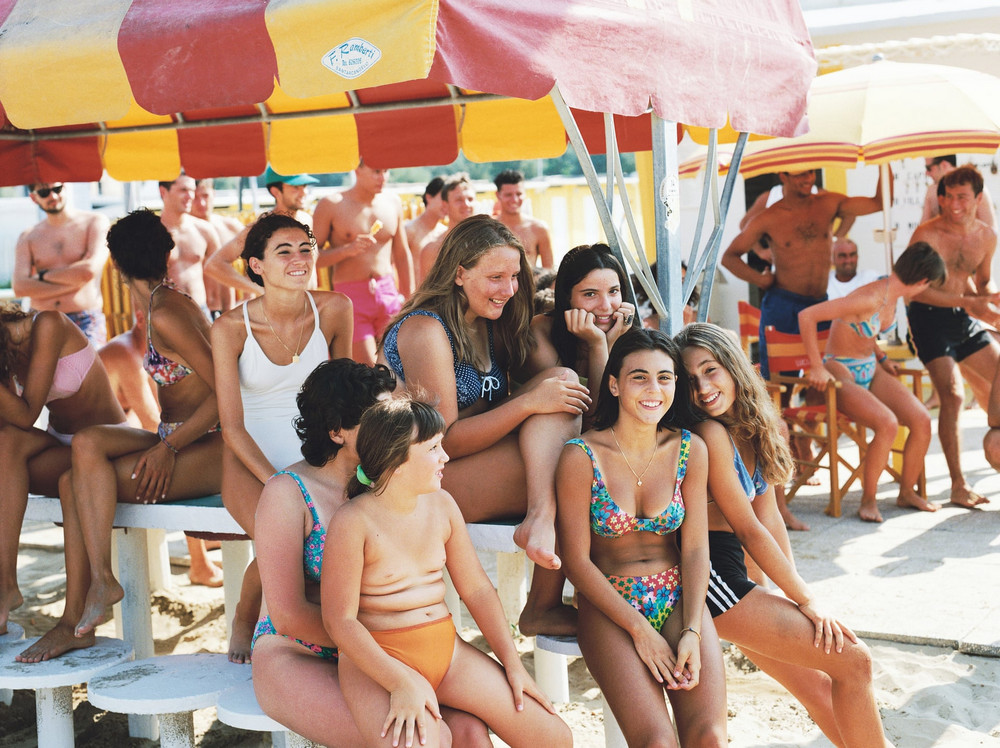 Бесконечное итальянское лето и фотографический флирт Клода Нори 2