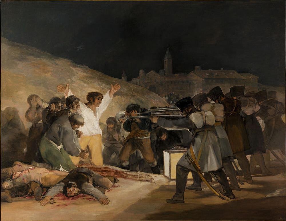 3 mai 1808 Francisco Goya