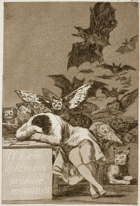 Le sommeil de la raison produit des monstres, 1797