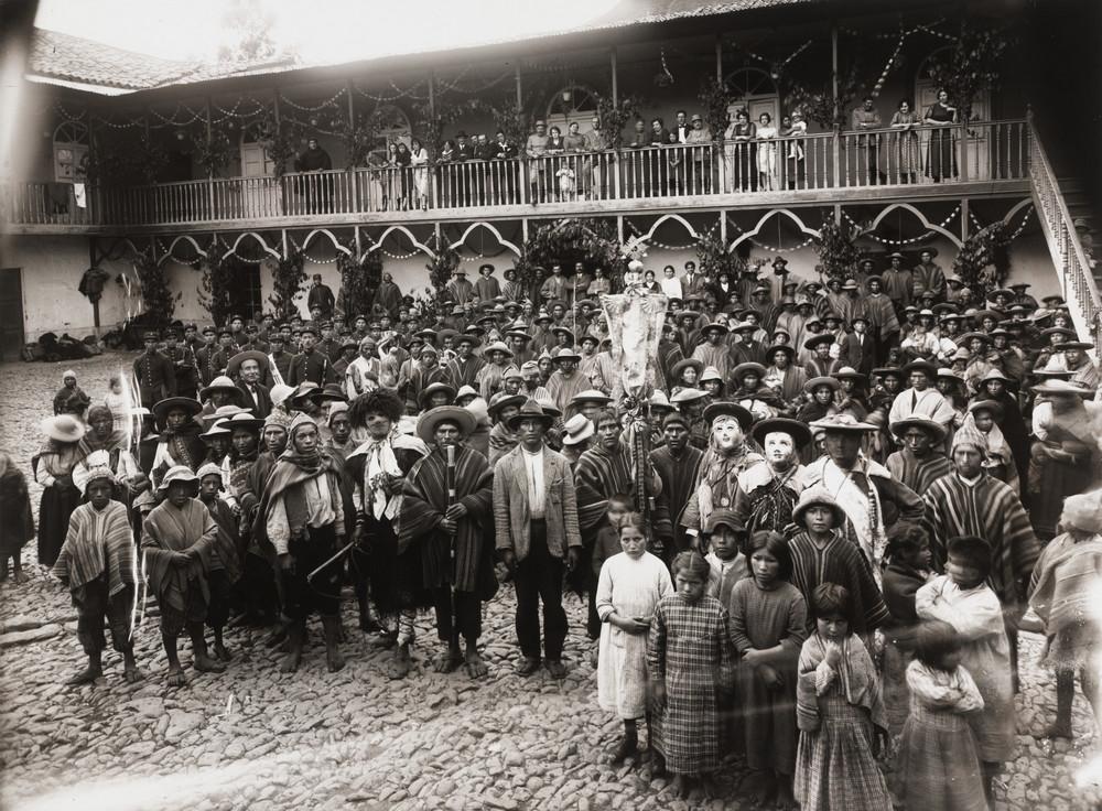 Первопроходец перуанской фотографии – индеец Мартин Чамби  15