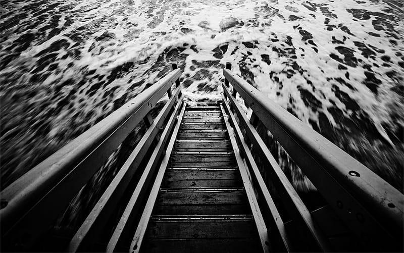 Свет, тени и силуэты: магия чёрно-белой уличной фотографии Гая Коэна 14