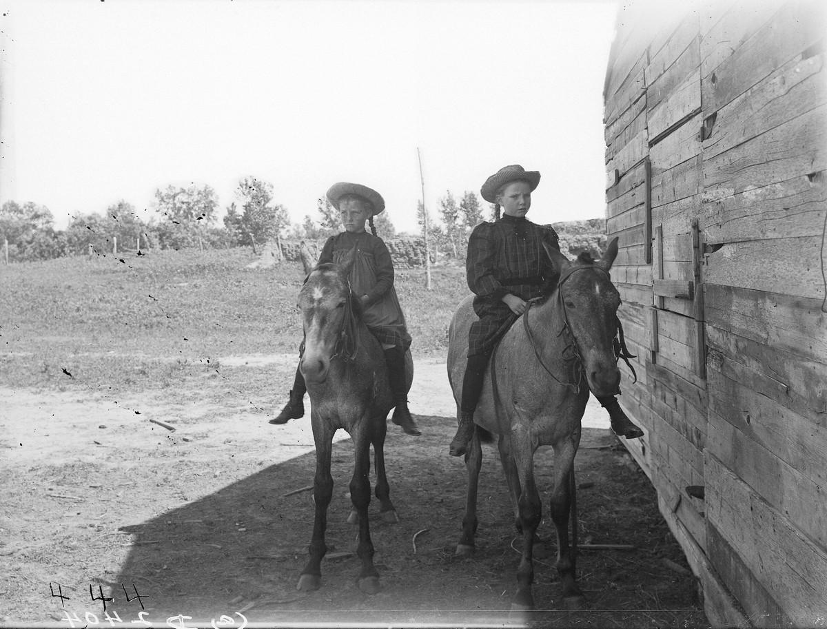 Как поднималась американская целина. Архивные фотографии пионеров Великих равнин конца 19-го века 17