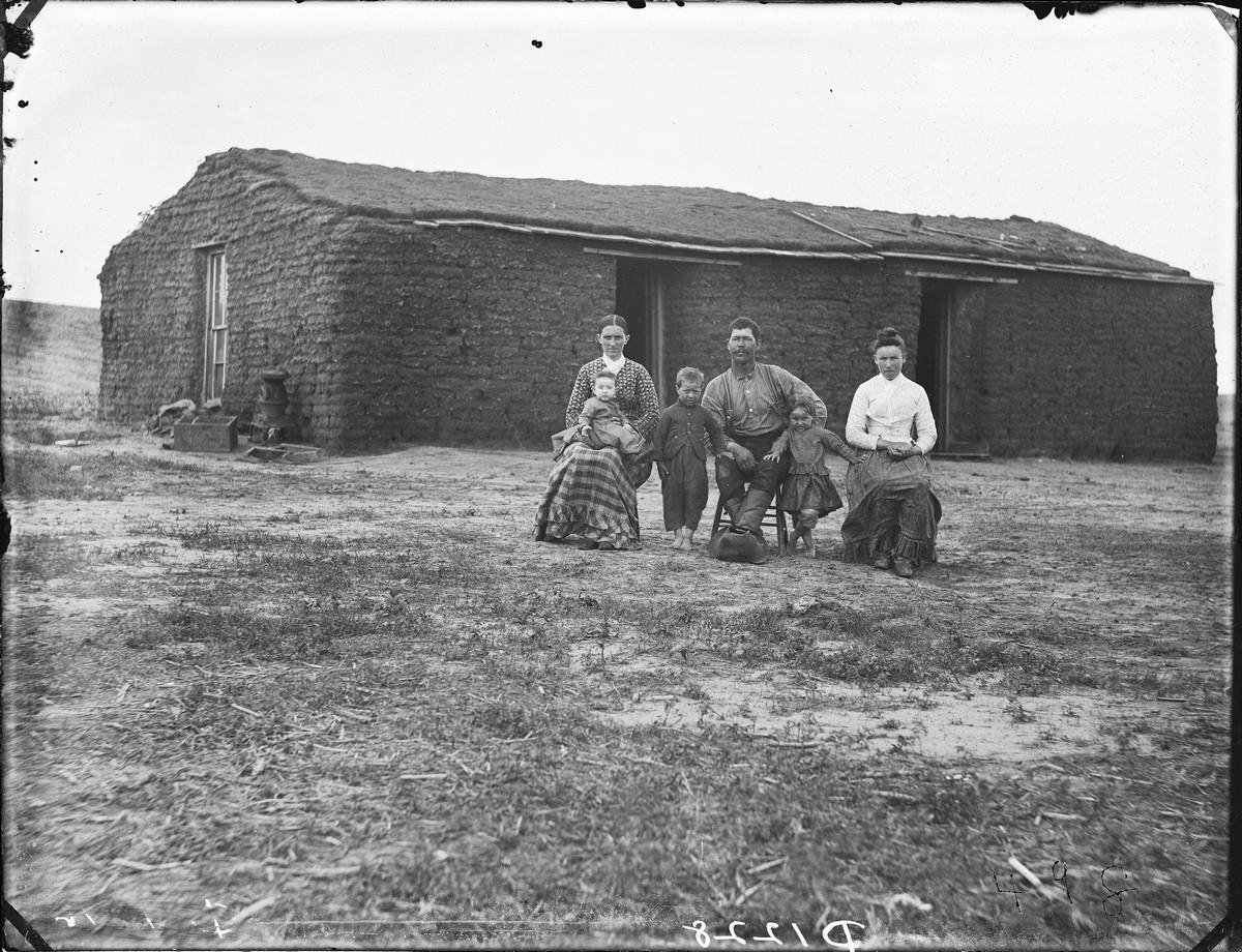 Как поднималась американская целина. Архивные фотографии пионеров Великих равнин конца 19-го века 22