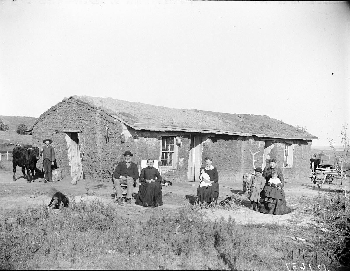 Как поднималась американская целина. Архивные фотографии пионеров Великих равнин конца 19-го века 26