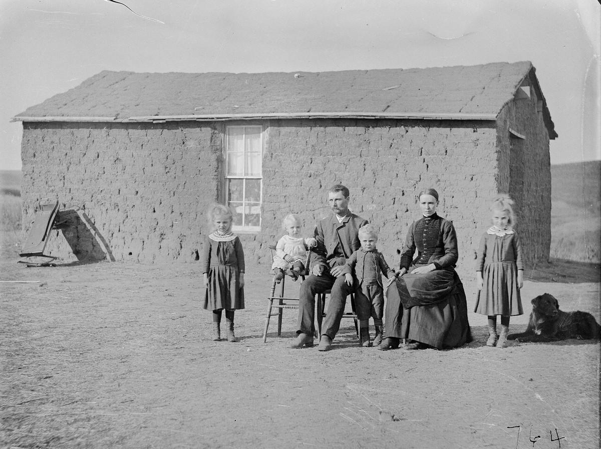 Как поднималась американская целина. Архивные фотографии пионеров Великих равнин конца 19-го века 4