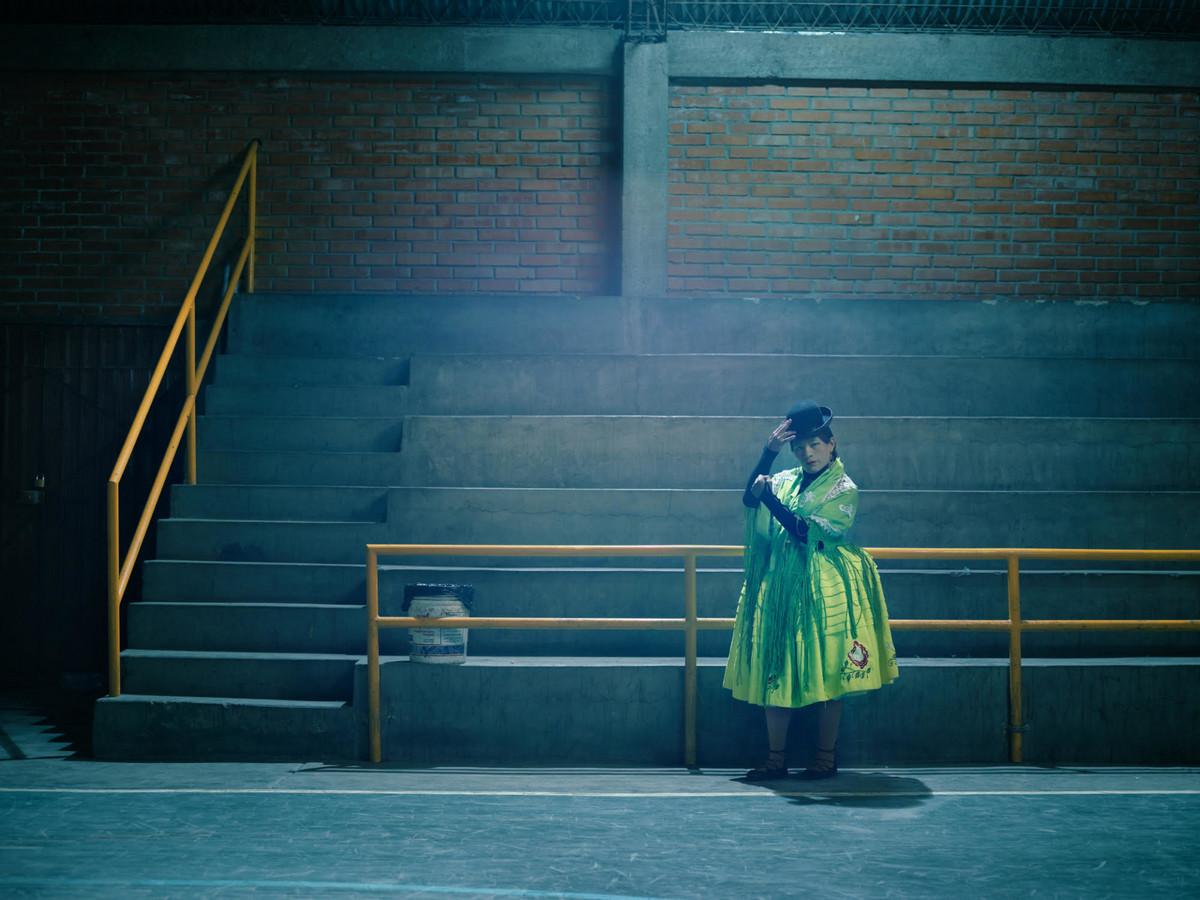 «Летающие чолиты»: боливийские женщины-борцы в фотографиях и видео  6