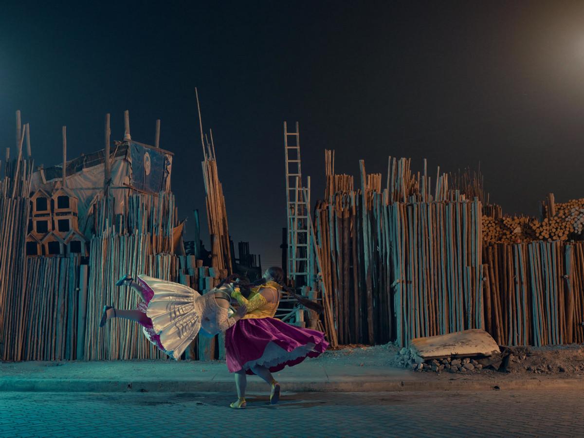 «Летающие чолиты»: боливийские женщины-борцы в фотографиях и видео  7