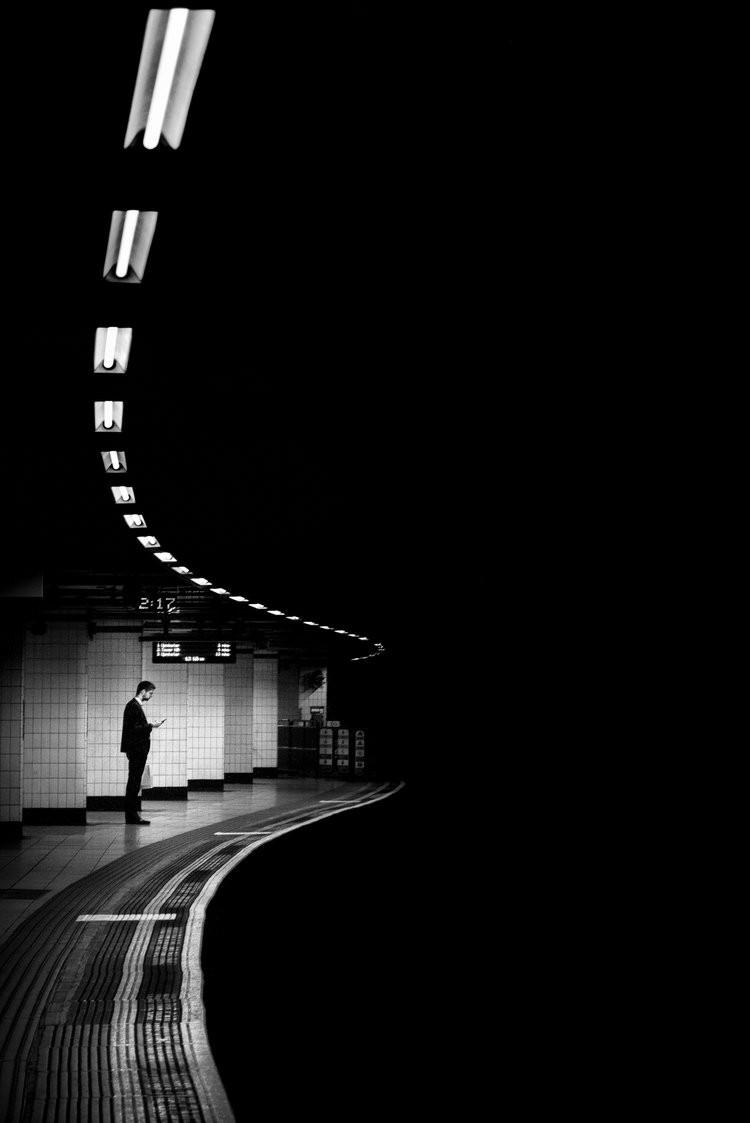 «Метрополис», «Голуби» и «Манхэттен» городского фотографа Алана Шаллера 14